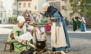 tafeln oder schlemmen, museum aargau bittet zu tisch